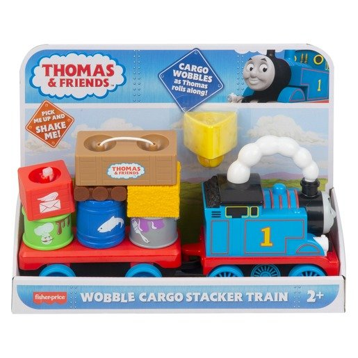 Picture of Fisher-Price Thomas & Friends - Wobble Cargo Stacker Train