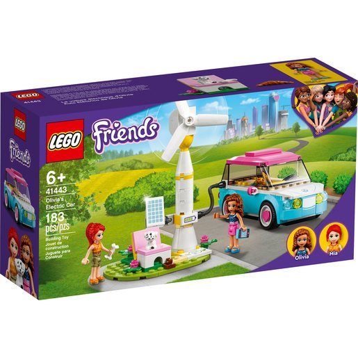 Picture of LEGO Friends Olivia's Electric Car - 41443