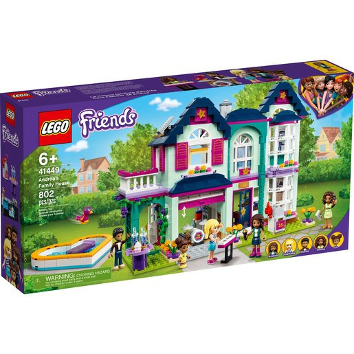 Picture of LEGO Friends Andrea's Family House - 41449