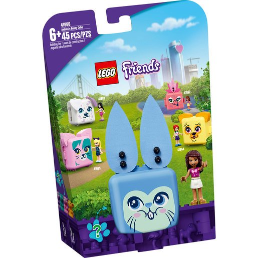 Picture of LEGO Friends Andrea's Bunny Cube - 41666