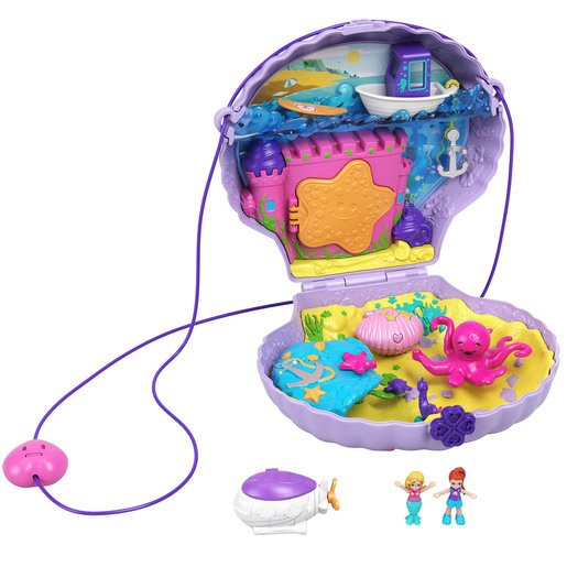 Picture of Polly Pocket Playset - Tiny Seashell Purse