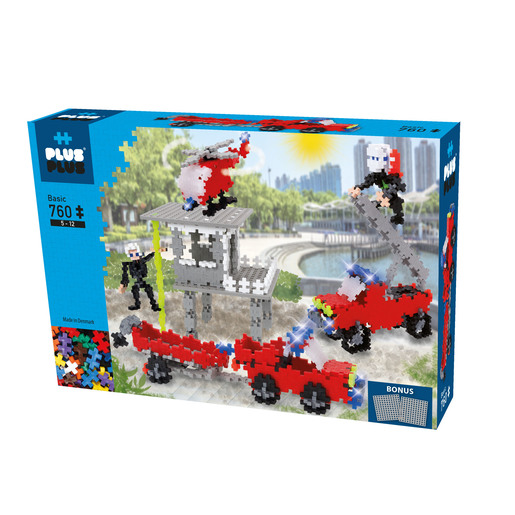 Picture of Plus-Plus Construction Set  - Fire and Rescue Kit