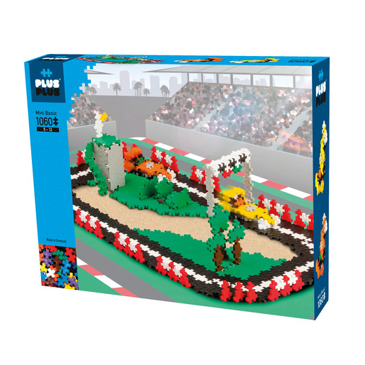 Picture of Plus-Plus Construction Set  - Race Track Kit