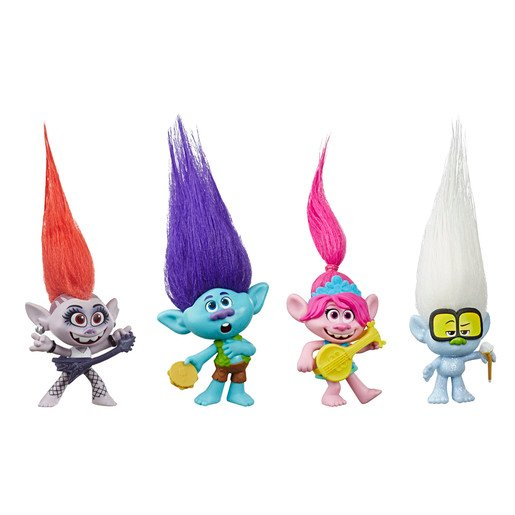 Picture of Dreamworks Trolls Work Tour - Small Doll 4 Pack