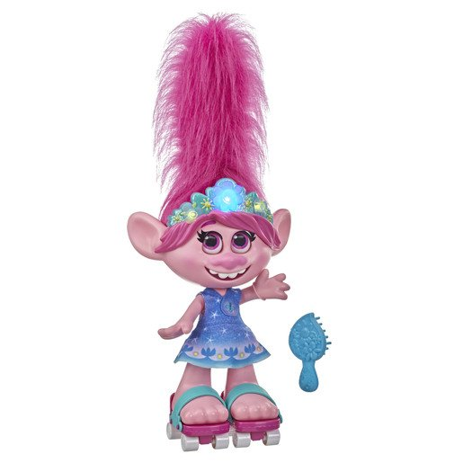 Picture of Dreamworks Trolls Work Tour Doll - Dancing Hair Poppy