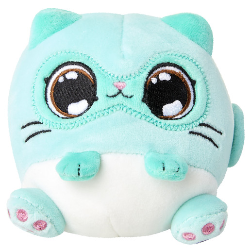 Picture of Kitten Catfe Scented Plush - Mint Siamese