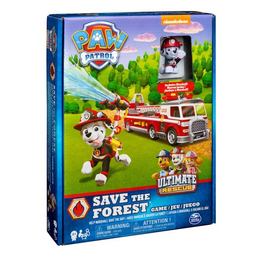 Picture of Paw Patrol Save the Forest - Family Board Game
