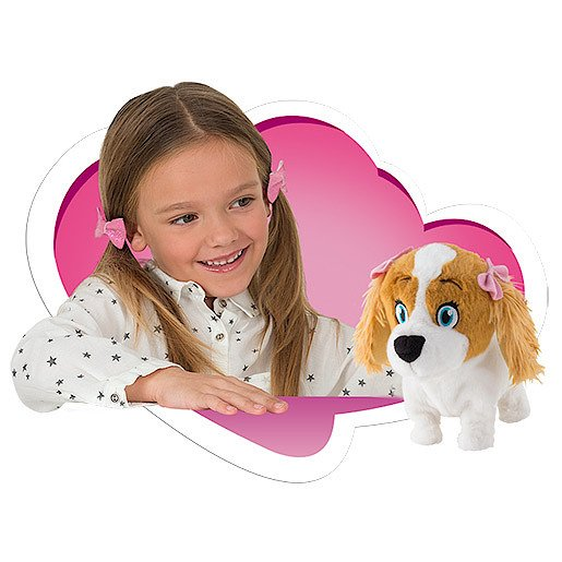 Picture of Club Petz Lola Animated Dog Soft Toy