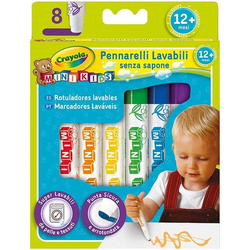 Picture of Crayola Beginnings - 8 Marker Pens