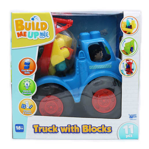 Picture of Build Me Up Large Truck with 11 Blocks