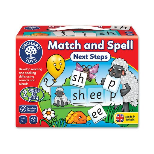 Picture of Match and Spell Next Steps Game