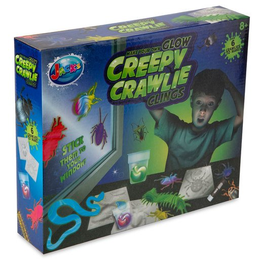 Picture of Jack's Make Your Own Glow Creepy Crawlie Clings