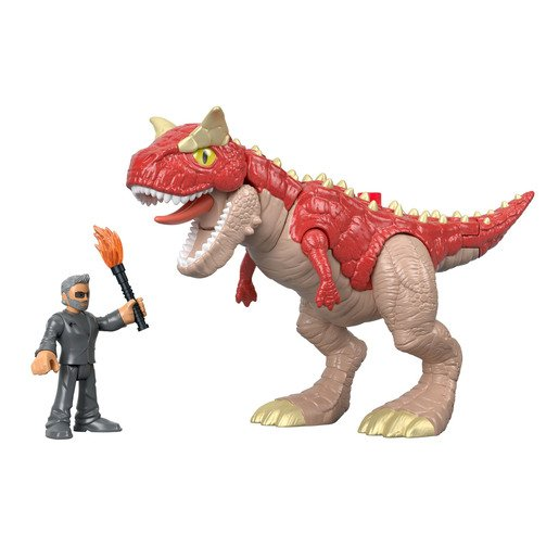 Picture of Imaginext Jurassic World Feature Figures - Garnotarus & Dr. Malcom