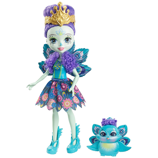 Picture of Enchantimals Doll - Patter Peacock and Flap