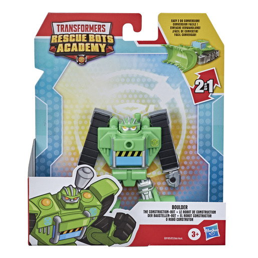 Picture of Transformers Rescue Bots Academy Figure - Boulder