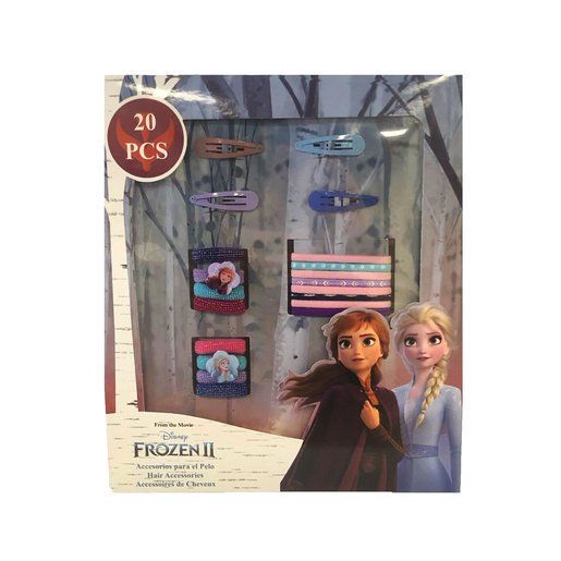 Picture of Disney Frozen 2 Hair Accessories Set - 20 Pack