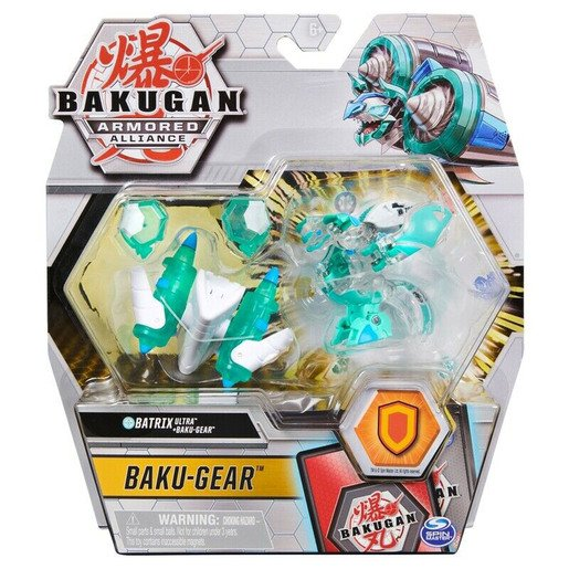 Picture of Bakugan Armoured Alliance Baku-Gear - Batrix (White & Green)