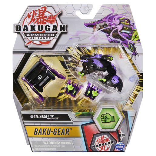Picture of Bakugan Armoured Alliance Baku-Gear - Gillator Ultra (Purple)