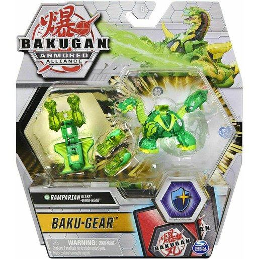 Picture of Bakugan Armoured Alliance Baku-Gear - Ramparian (Green)