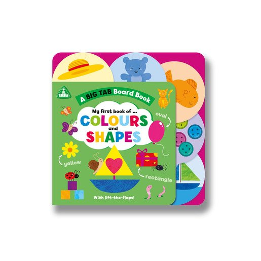 Picture of ELC: Big Tab World: Shapes and Colours
