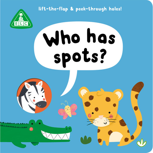 Picture of Early Learning Centre Peep Through Book: Who Has Spots?