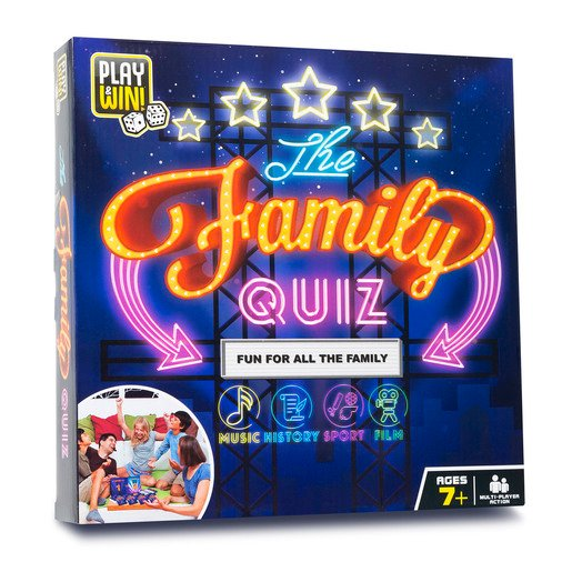 Picture of Play & Win The Family Quiz Board Game