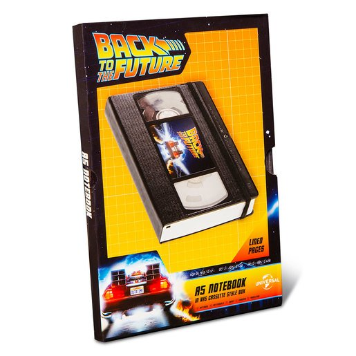 Picture of Back To The Future A5 Notebook