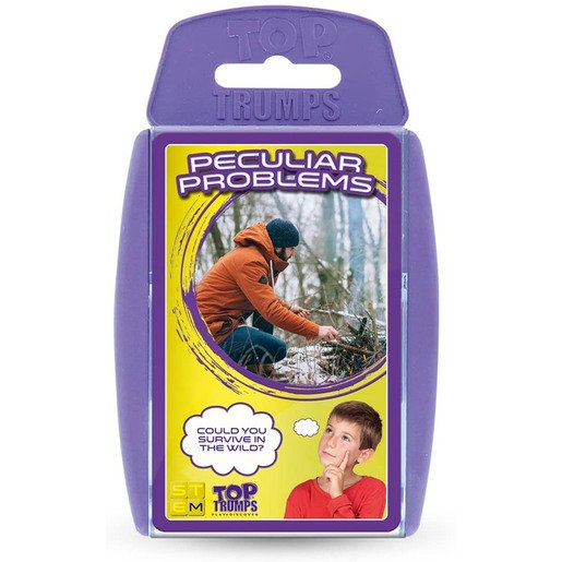 Picture of Top Trumps Peculiar Problems Card Game