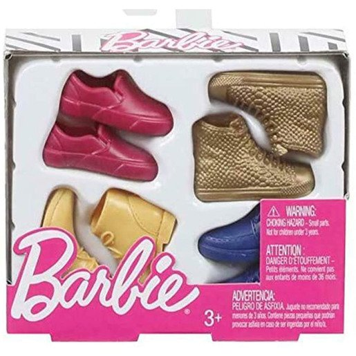 Picture of Barbie - Ken's Shoes 4 Pack
