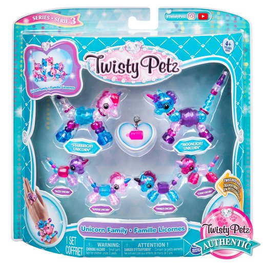 Picture of Twisty Petz Series 3 Bracelet Set - Unicorn Family Pack