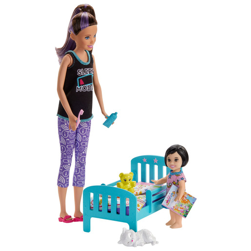 Picture of Barbie Skipper Babysitters Dolls & Playset