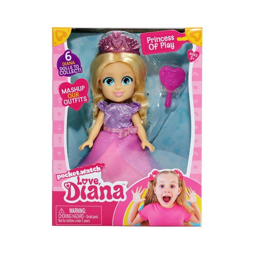 Picture of Love Diana 15cm Doll - Princess