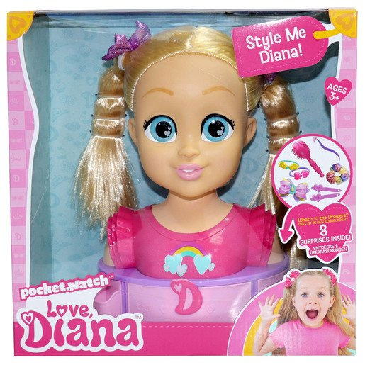 Picture of Love Diana - Deluxe Styling Head