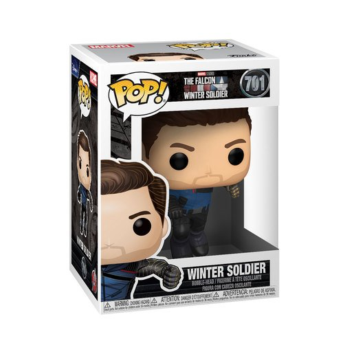 Picture of Funko Pop! Marvel: The Falcon & Winter Soldier - The Winter Soldier