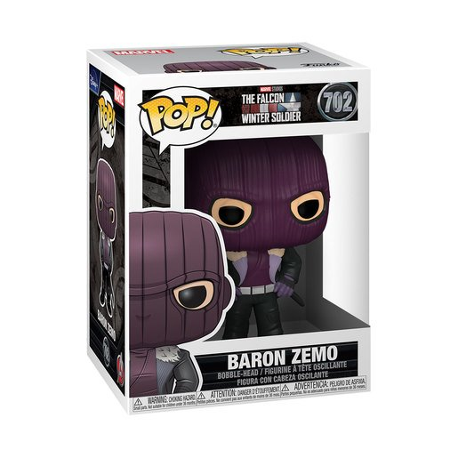 Picture of Funko Pop! Marvel: Baron Zemo