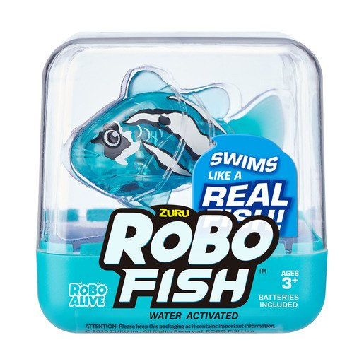 Picture of Robo Fish by Zuru - Light Blue