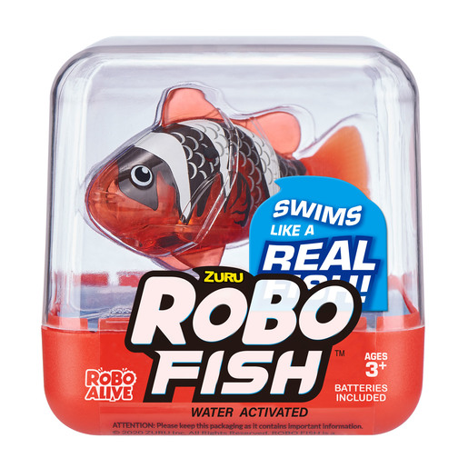 Picture of Robo Fish by Zuru - Red