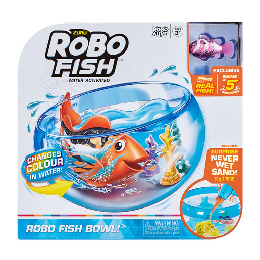 Picture of Robo Fish - Fish Tank Playset by Zuru - Pink