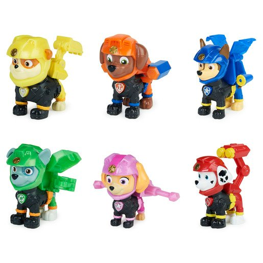 Picture of Paw Patrol - Moto Pups Rubble Collectible (Styles Vary)
