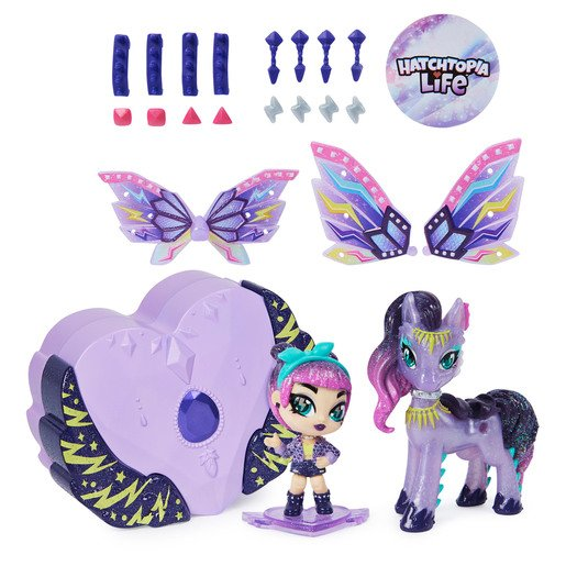 Picture of Hatchimals Pixies Riders - Magical Mel Pixie & Ponygator Glider