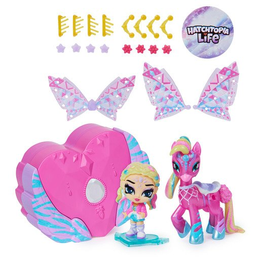 Picture of Hatchimals Pixies Riders - Chic Claire Pixie & Zebrush Glider