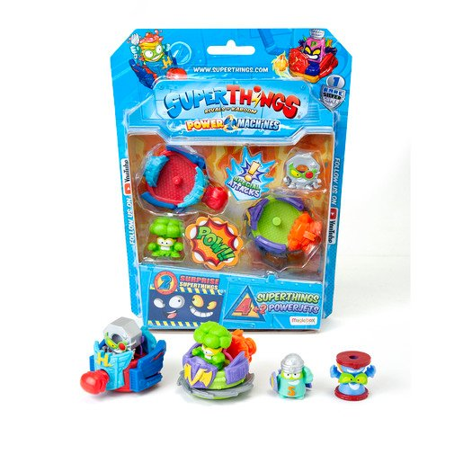 Picture of Superthings Power Machines - 4 Pack