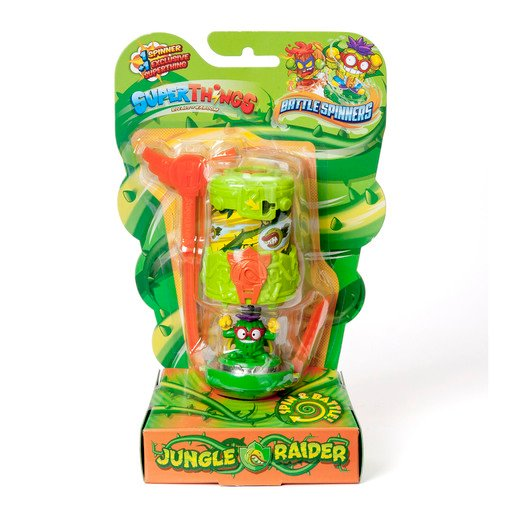 Picture of Superthings - Battle Spinners - Jungle Raider
