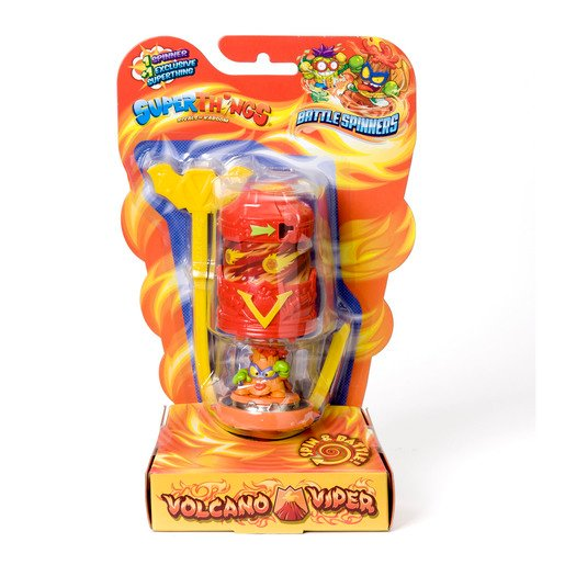 Picture of Superthings - Battle Spinners - Volcano Viper