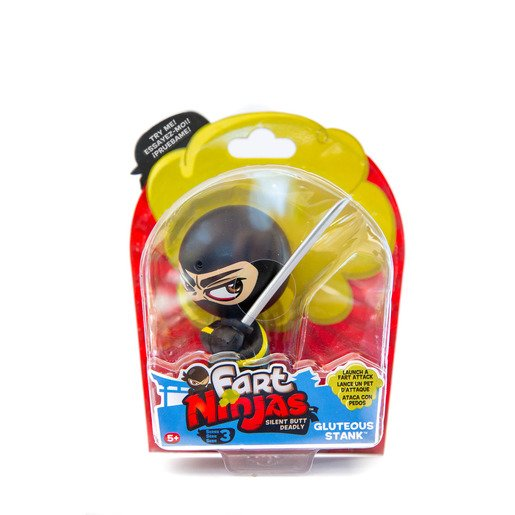 Picture of Fart Ninja Figure Series 3 - Gluteous Stank