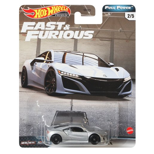 Picture of Hot Wheels X Fast and Furious Vehicle - 17 Acura NSX
