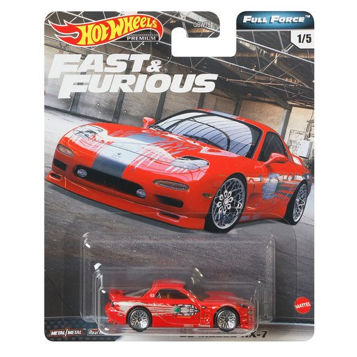 Picture of Hot Wheels X Fast and Furious Vehicle - Mazda RX7 FD