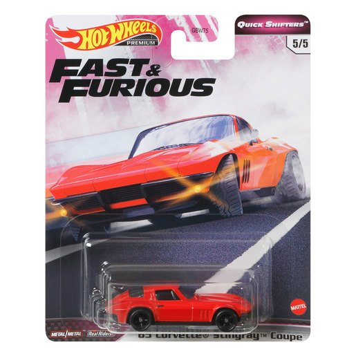 Picture of Hot Wheels X Fast and Furious Vehicle - '65 Corvette Stingray