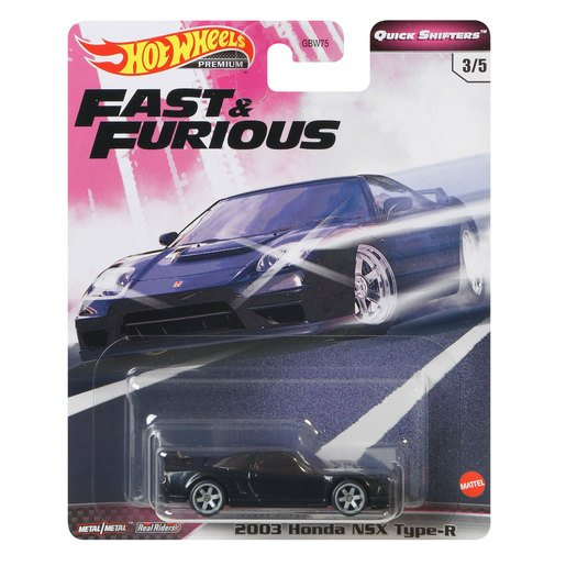 Picture of Hot Wheels X Fast and Furious Vehicle - Honda NSX Type R