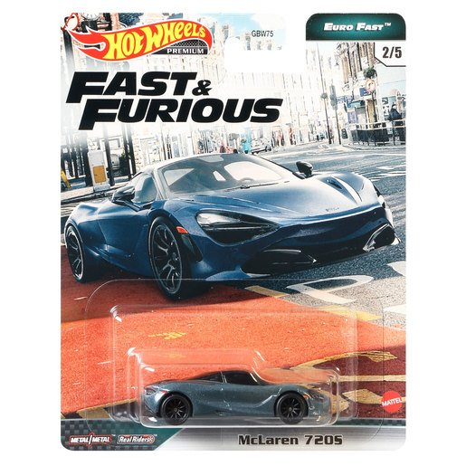 Picture of Hot Wheels X Fast and Furious Vehicle - McLaren 720S